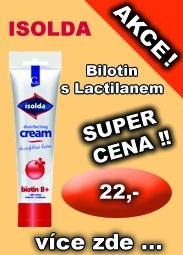 ISOLDA krém Biotin s Lactilanem