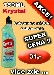 KRYSTAL balzm na ndob s Aloe Vera,750ml