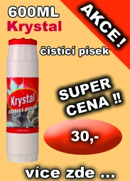 KRYSTAL istc psek,600g 