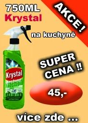 KRYSTAL na kuchyně, univerzální čistící prostředek 750 ml