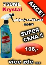 KRYSTAL olejový osvěžovač modrý 750 ml